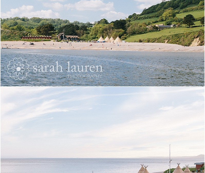 Andy & Clare's Branscombe beach tipi wedding ~ a sneak preview