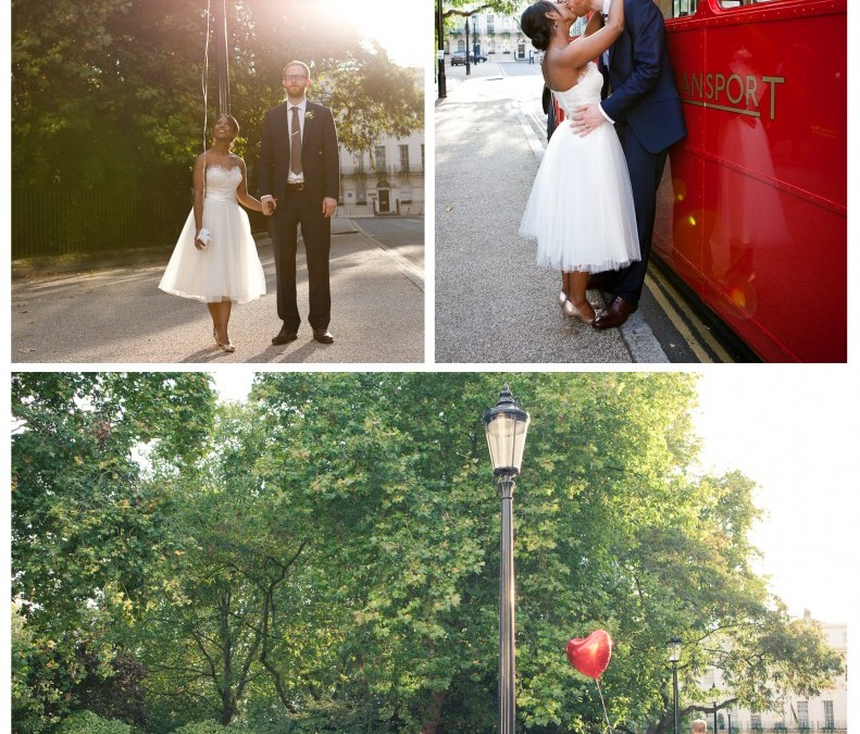 Naomi & Chris' awesome London Wedding at Six Fitzroy Square ~ Sarah Lauren Photography