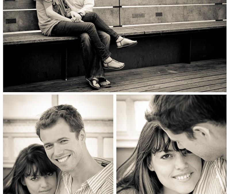 Matthew & Kim's Pre-wedding shoot, Clevedon Pier