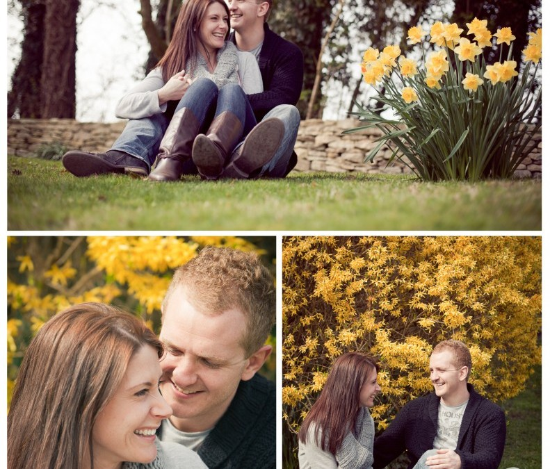 Nikky & Marc's Pre-wedding shoot ~ Kingscote Barn ~ Sarah Lauren Photography