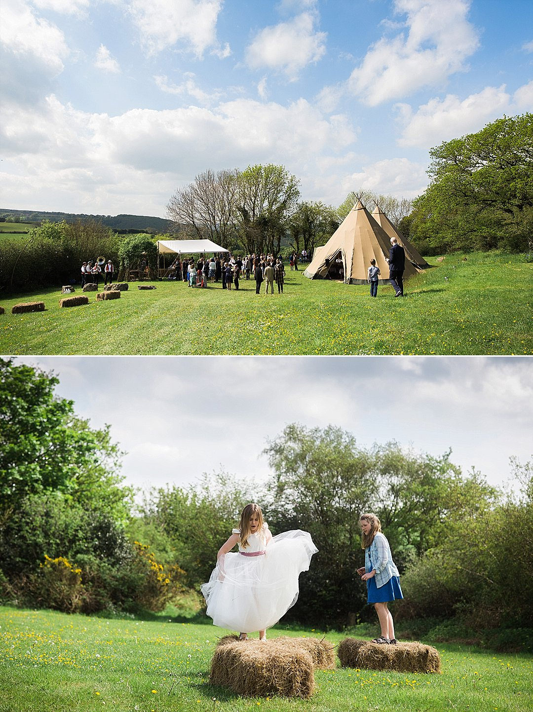 Kate Amp Tristan S Burnicombe Farm Tipi Wedding