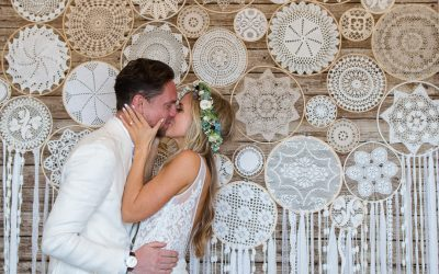 Fletch & Denise's Lusty Glaze Beach Wedding