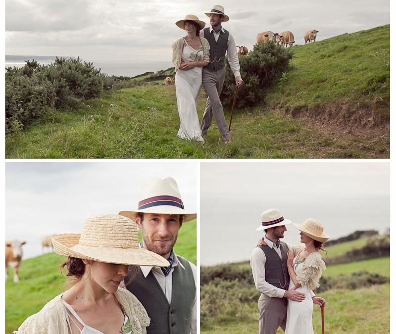 emily & rodney's 1920s pre-wedding shoot