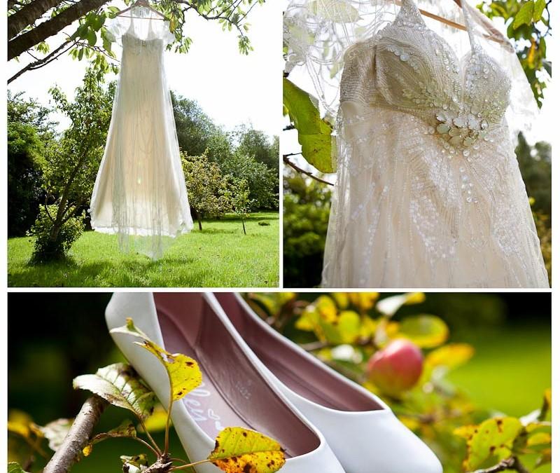 Emily & Rodney's Midsummer Night's Dream tipi wedding