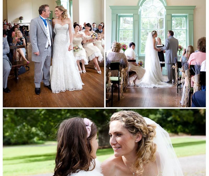 Tara & Steve – sneak preview of their Lupton house wedding